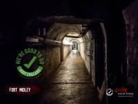 The haunted tunnels of Fort Widley, Portsmouth, Hampshire