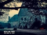 The haunting Michelham Priory at dawn